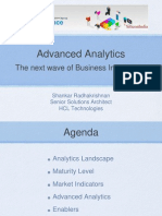 Advance Analytics