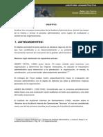 Auditoria Administrativa, Antecedentes,Conceptos,Normas,El Auditor Admitivo e Informe