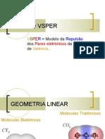 GeometriaMolecular - modelo VSPER