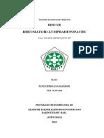 RHEUMATOID LYMPHADENOPATHY resume.doc