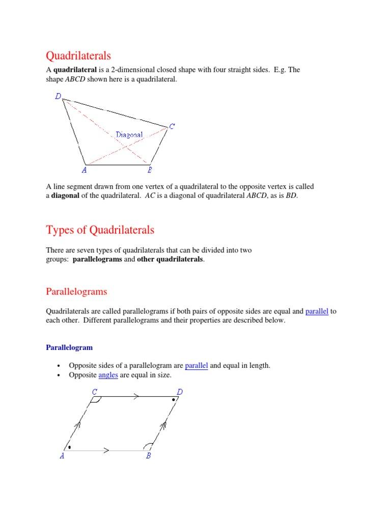Quadrilateralscx rectangle angle ccuart Images