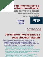 O Impacto Da Internet Sobre o Jornalismo