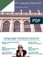 StEOPWS2011 12 Language Analysis Unit1