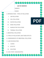 Project on pollution