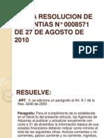 Presentacion Radicacion de Garantias - Nuevo