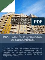 MBA - Gestão Profissional de Condomínios - Grupo Educa+ EAD