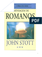 a bíblia é para hoje - romanos john stott