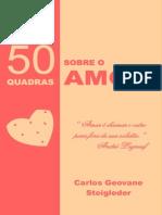50 quadras sobre o Amor-impressão