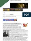 080426 - Teoria da Conspiração - O diabo não é tão feio quanto se pinta - Parte I