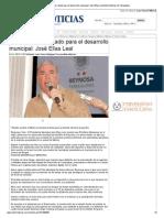 07-11-2013 'Pemex el mejor aliado para el desarrollo municipal_ José Elías Leal'
