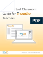 Wiziq Moodle Plugin Guide for Teacher