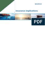 Marsh Piracy Implications