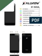Manual de utilizare smartphone Allview X1 Soul