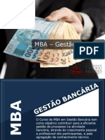 MBA - Gestão Bancária - Grupo Educa+ EAD