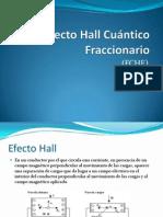 Efecto Hall Cuántico Fraccionario
