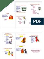 triptico de prevención y control de incendios