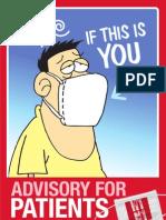 Advisory For