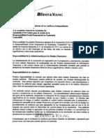 Estados Financieros Auditados CentraRSE 2012