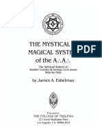 28458097 the Mystical and Magical System of the a a Eshelman James A