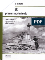 03.- Rommel Primer Movimiento - Tobruk, Marzo de 1941