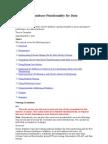Using Basic Database Functionality for Data Warehousing