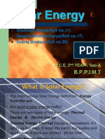 solar energy powerpoint