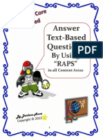 raps - how to answer questions