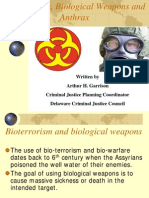 Bio Terrorism And Biological Weapons Part 4