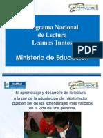 Programa Nacional de Lectura Leamos Juntos  Carlota doc (2).ppt