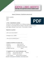Francés Examen 2º Bachillerato _resuelto_ 2