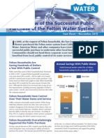An Overview of the Successful Public Purchase of the Felton Water System