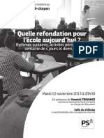 Flyer Rythmes Scolaires HD2