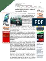 SiteBarra » Mais de 1,8 mil vagas de cursos gratuitos com vagas para São Mateus