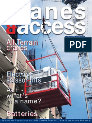 Crane and Access magazine February 2010 Vol  12 issue 1 pdf
