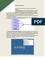 clasificacin de los sistemas operativos