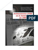 Avistamientos Ovni Antartida 1965