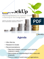 Marketing Research for Customer Growth in Banking for the Energy Sector