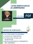 21 Leyes Del Liderazgo - John-Maxwell RESUMEN.ppt