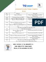 Programa Encuentro 2013