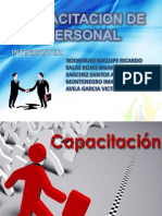 Capacitacion de Personal Ppt