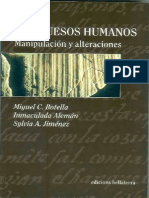 LOS HUESOS HUMANOS_ Manipulación y Alteraciones.pdf