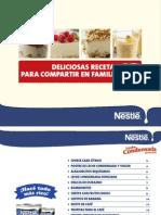 Recetas Leche Condensada Nestle