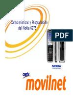 comunicado características y programación del nokia 6275 - noviembre 2006
