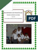 Mis Experiencias Pedagogicas Rosana Camargo III B
