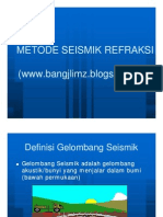 Metode Seismik Refraksi Only] [Compatibility Mode]