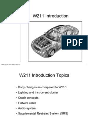 219 HO W211 Intro (WFF) 08-05-02 | Airbag | Loudspeaker