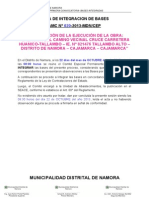 AMC N° 020 - BASES EJECUCION OBRA CARRETERA TALLAMBO - bases integradas