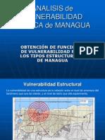 Analisis de Vulnerabilidad Sismica de Managua
