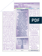Newsletter 31 - June 2009
