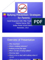 Indian Prairie School District 204 Bullying Prevention Presentation November 2013 .pdf